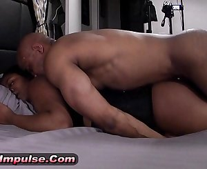 Bound, Blindfolded, and brought to orgasms (Krystal meets Xavier Thicc)