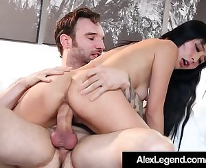 Japanese Marica Hase Gets Fat French Cock By Alex Legend!