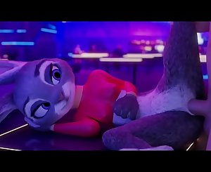 Judy Hopps returns to Zootopia to get her pussy and ass fucked hard