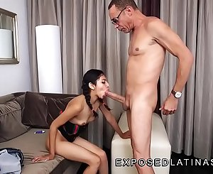 www.EXPOSEDLATINAS.com Betty La Ternurita Amateur Latina Pornstar gets fucked cowgirl by her stepfather stepdaughter video @exposedlatinas on twitter