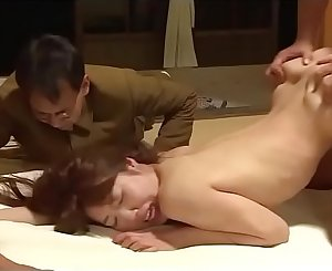 Japanese wifey forced in front of hubby by 4 guys (Full: shortina.com/qh33T)