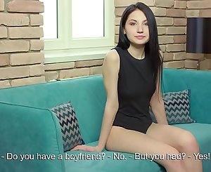 Emily Insomnia. 18 Y.O Gorgeous real virgin lady shows her masturbation.