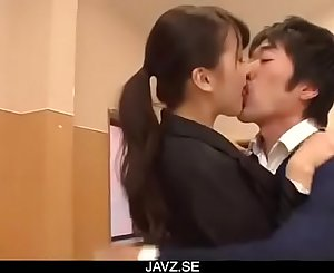 Dirty teacher, Yui Oba, goes sleazy on a tasty cock - From JAVz.se